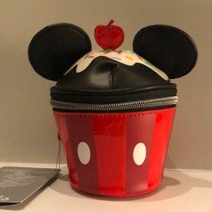 Disney Store Mickey Mouse Cupcake mini purse